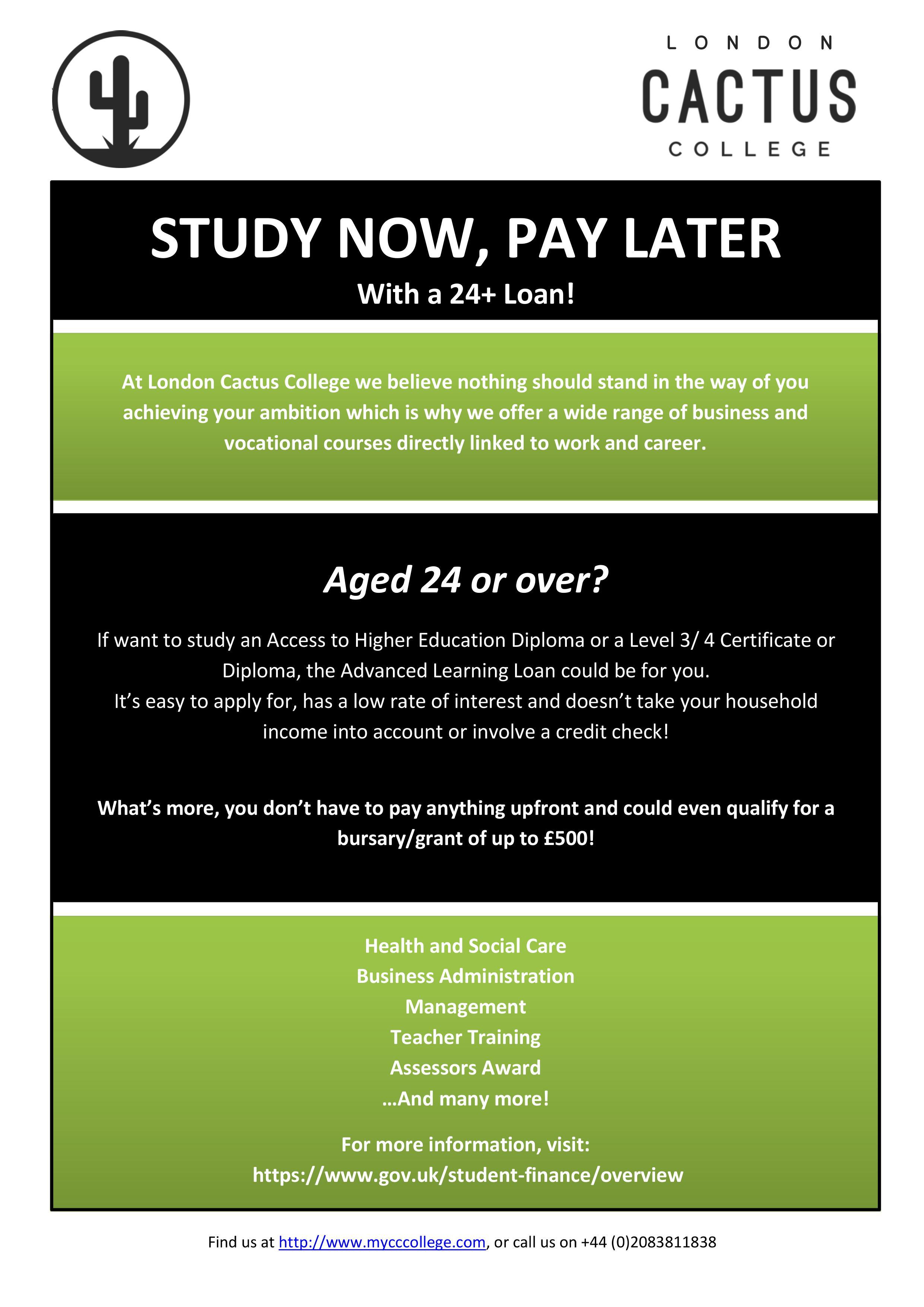 24+ Loan information